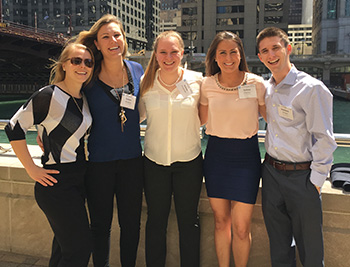 IONM students at the ASNM conference in Chicago