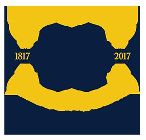 U-M Bicentennial mark