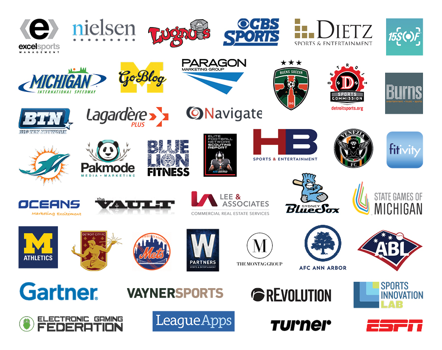 Sport Management Partner Logos