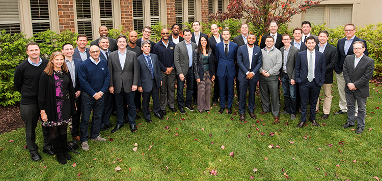 Sport Management Advisory Board and guests Fall 2016