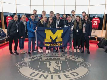 Sport Management students visit Manchester United in the UK