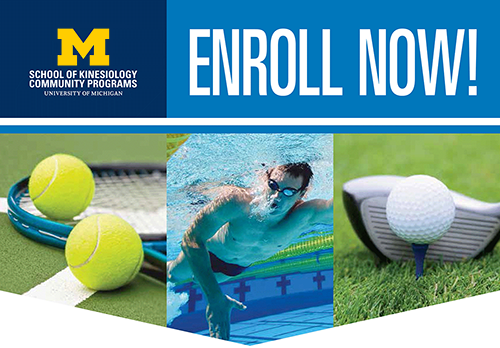 Enroll now any season